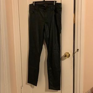 F21 Metallic Black Pants